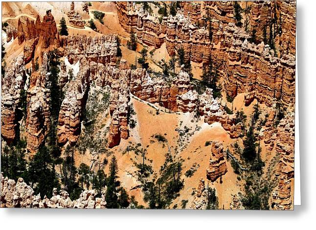 Monolith Greeting Cards - Bryce Canyon 291 Greeting Card by Maria Huntley