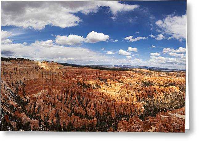 National Greeting Cards - Bryce Canyon Amphitheatre Greeting Card by Andrew Soundarajan