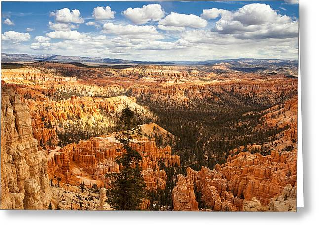 National Greeting Cards - Bryce Canyon Greeting Card by Andrew Soundarajan