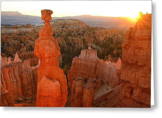 Bryce Canyon Greeting Card by Christian Heeb