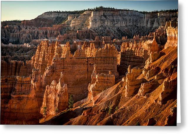 Bryce Canyon II Greeting Card by Jeff Burton