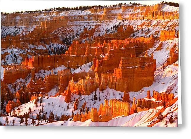 Desert Prints Greeting Cards - Bryce Canyon Greeting Card by Monique Wegmueller