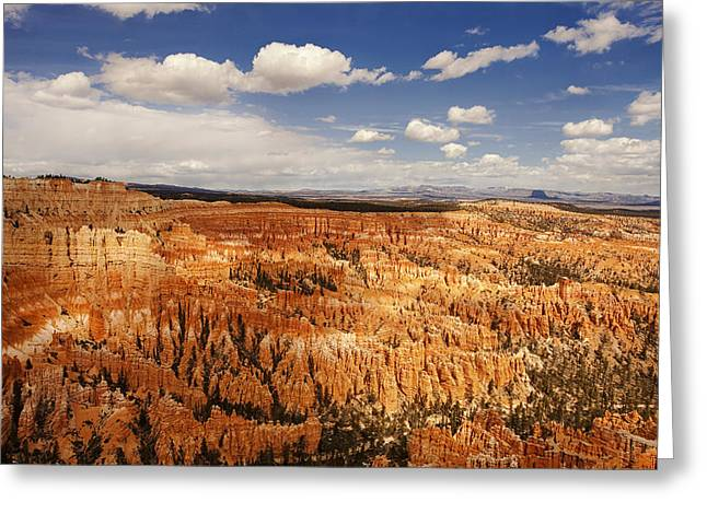 National Greeting Cards - Bryce Canyon Morning Greeting Card by Andrew Soundarajan