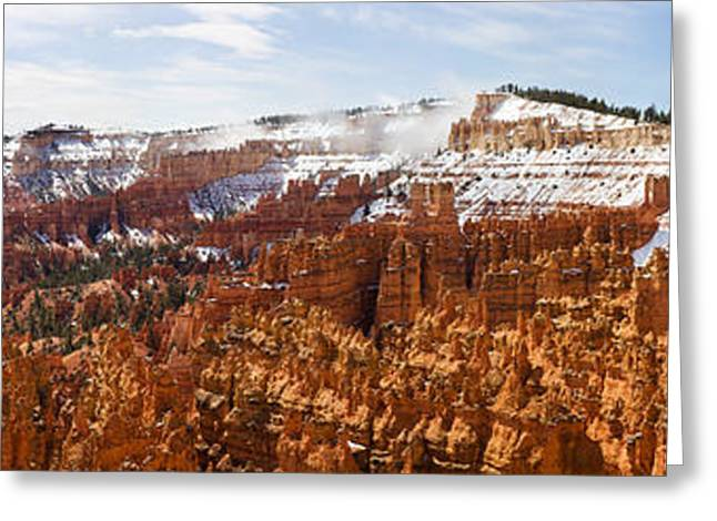 Park Scene Greeting Cards - Bryce Canyon National Park, Utah, Usa Greeting Card by Panoramic Images