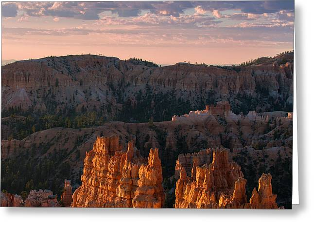 Utah Clouds Greeting Cards - Bryce Morning Greeting Card by Joseph Smith