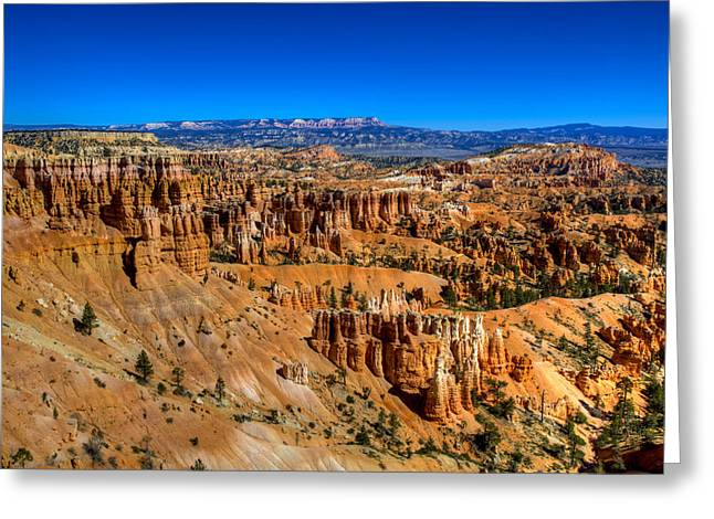 Bryce's Glory Greeting Card by Chad Dutson