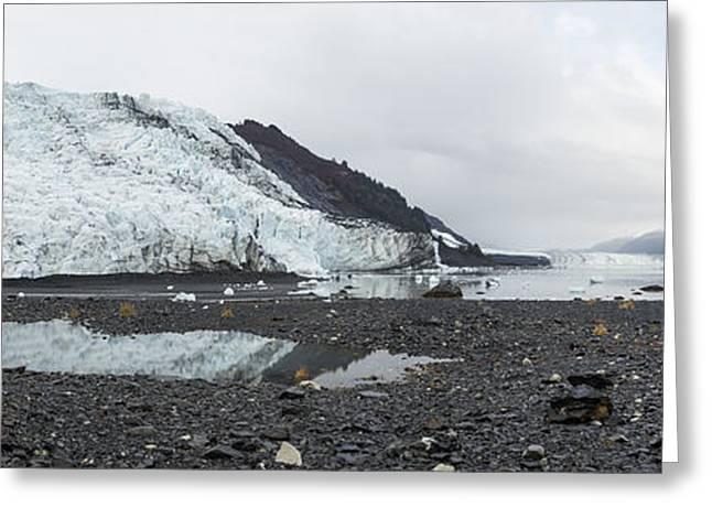 Bryn Mawr Greeting Cards - Bryn Mawr Glacier Reflection Greeting Card by Ted Raynor