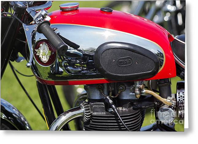 British Culture Greeting Cards - BSA A65 650cc  Greeting Card by Tim Gainey