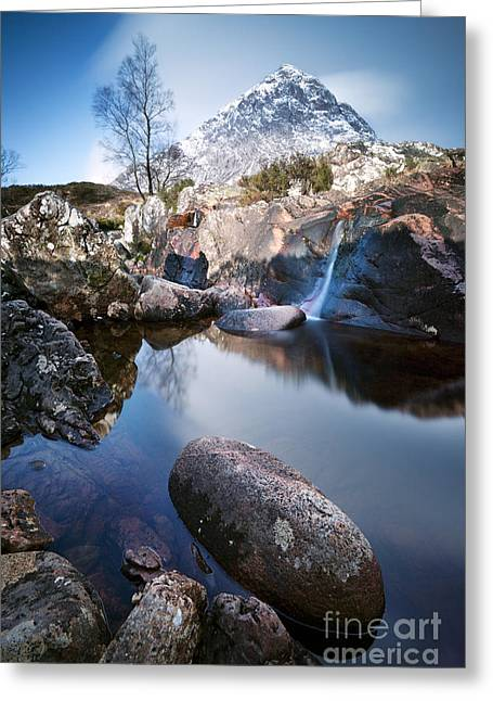 Etive Mor Greeting Cards - Buachaille Etive Mor Scotland UK Greeting Card by Matteo Colombo