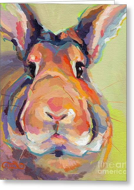 Bubba Omalley Greeting Card by Kimberly Santini
