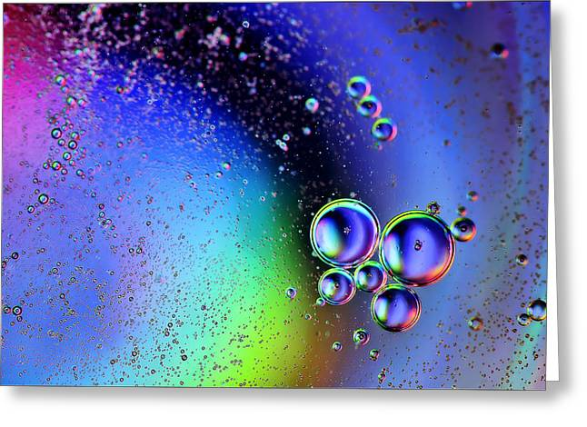 Fantasy World Greeting Cards - Bubbles Greeting Card by EXparte SE