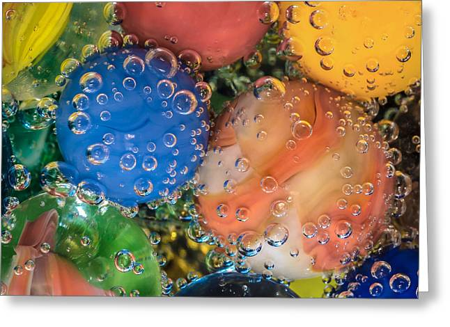James Barber Greeting Cards - Bubbles Greeting Card by James Barber