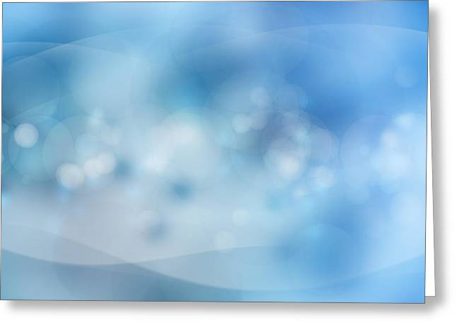 Blended Images Greeting Cards - Bubbles Greeting Card by Les Cunliffe