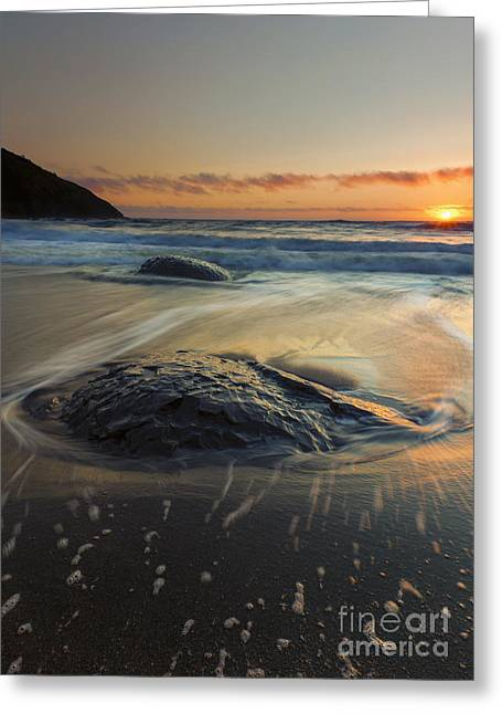 Bubbles Greeting Cards - Bubbles on the Sand Greeting Card by Mike  Dawson