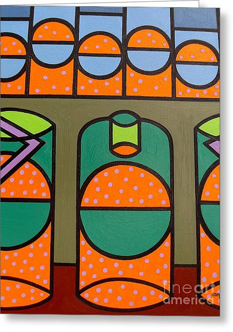 Fizz Paintings Greeting Cards - Bubbles Greeting Card by Patrick J Murphy