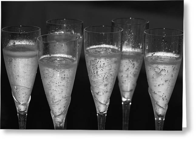 Cocktails Greeting Cards - Bubbly II Greeting Card by Bonnes Eyes Fine Art Photography
