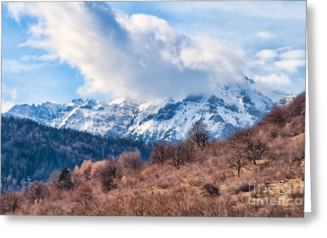 Carpathian Mountains Greeting Cards - Bucegi Mountains Greeting Card by Gabriela Insuratelu
