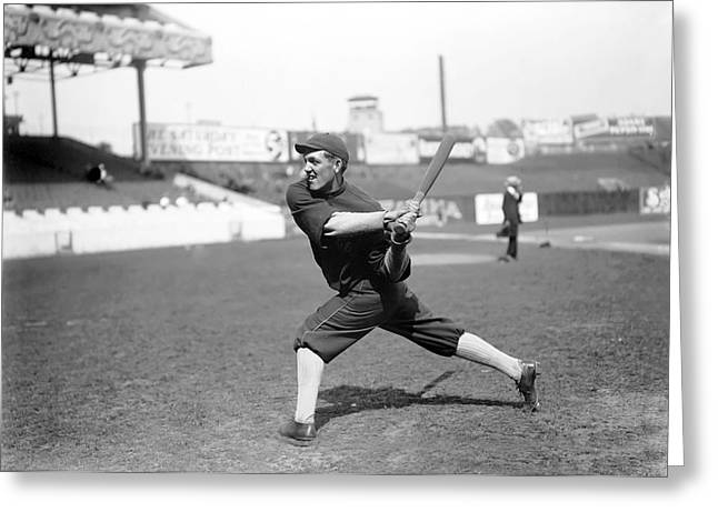 Retro Antique Greeting Cards - Buck Weaver With Chicago White Sox Greeting Card by Retro Images Archive