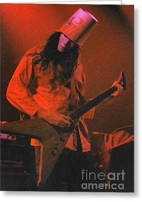 Recently Sold -  - ist Photographs Greeting Cards - Buckethead - 0579 Greeting Card by Gary Gingrich Galleries