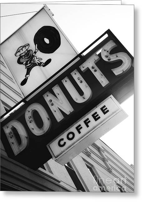 The Ohio State University Greeting Cards - Buckeye Donuts Greeting Card by Rachel Barrett