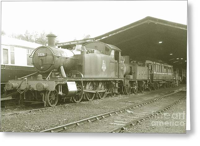 1420 Greeting Cards - Buckfastleigh Shed Greeting Card by Rob Hawkins
