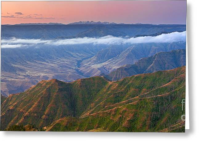 Calming The Storm Greeting Cards - Buckhorn Overlook Greeting Card by Don Hall
