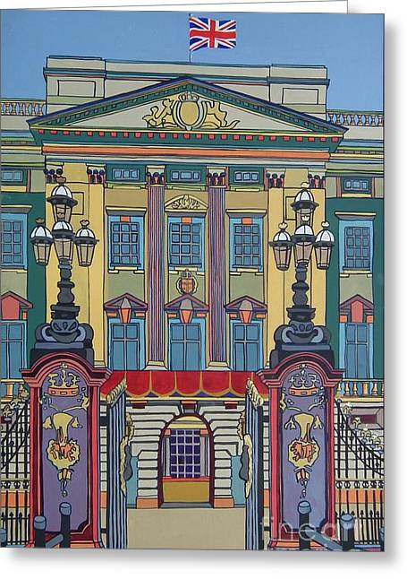 Family Buckingham Palace Greeting Cards - Buckingham Palace Greeting Card by Nicky Leigh