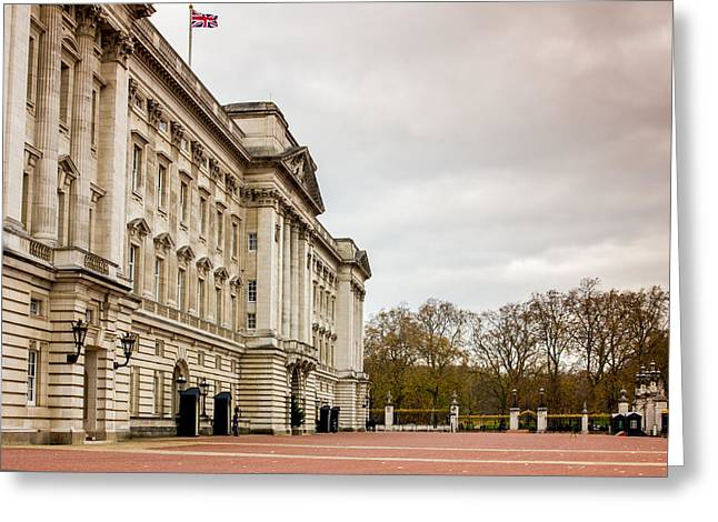 Buckingham Palace Side View Greeting Card by Pati Photography