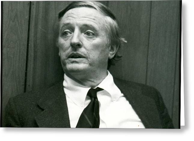Conservative Greeting Cards - Buckley IV Greeting Card by James R Tidyman