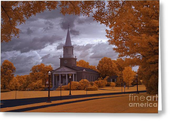 Lewisburg Greeting Cards - Bucknell 1 Greeting Card by Mike Kurec