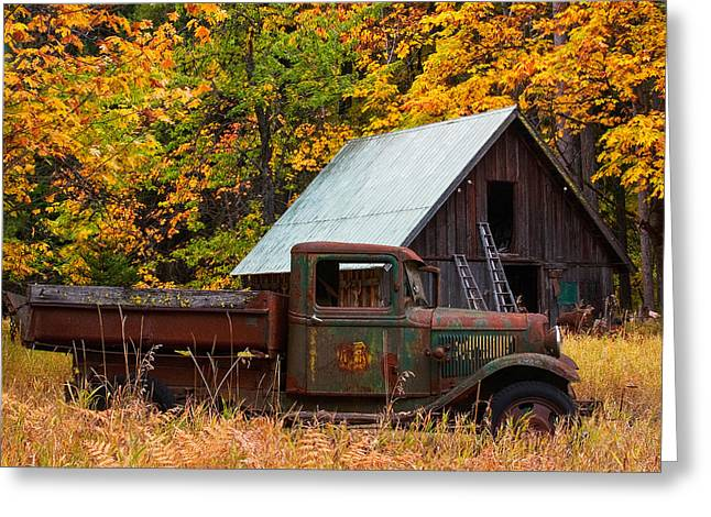 Buckner Orchard Greeting Card by Mark Kiver