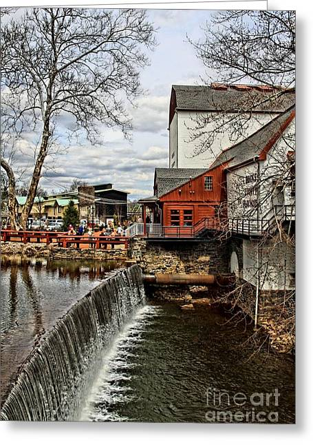 Bucks County Playhouse Greeting Card by DJ Florek