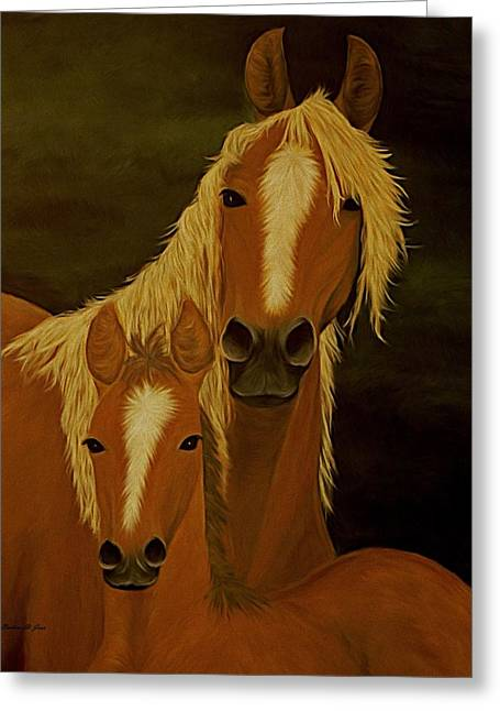 Saint Jean Art Gallery Greeting Cards - Buckskins Greeting Card by Barbara St Jean