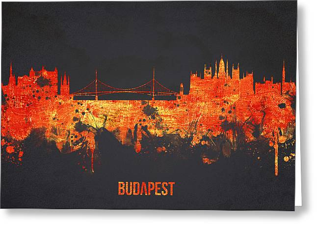 Bastion Greeting Cards - Budapest Hungary Greeting Card by Aged Pixel