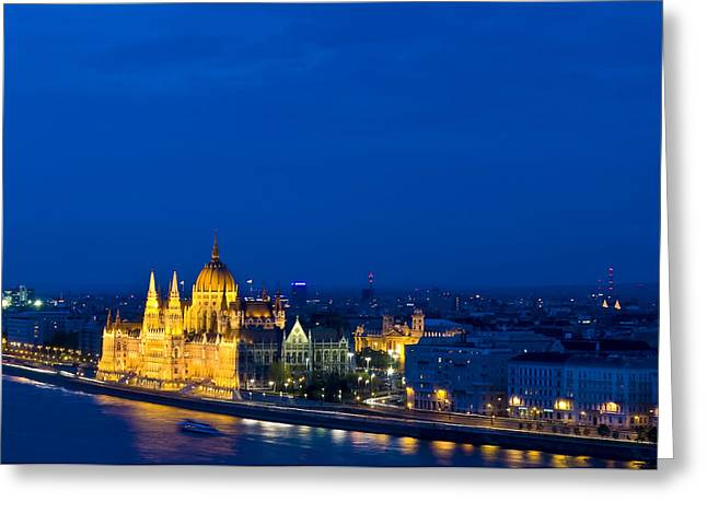 Kobby Dagan Greeting Cards - Budapest Greeting Card by Kobby Dagan