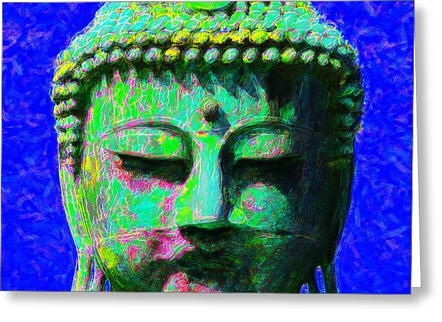 Budha Greeting Cards - Buddha 20130130p18 Greeting Card by Wingsdomain Art and Photography