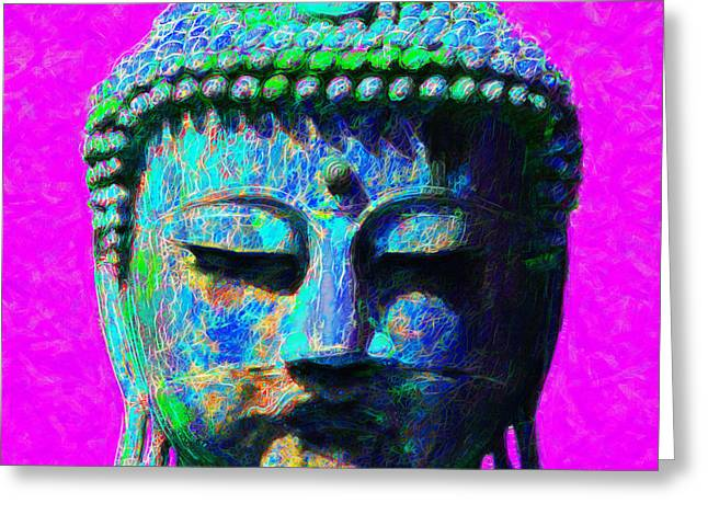 Budha Greeting Cards - Buddha 20130130p76 Greeting Card by Wingsdomain Art and Photography