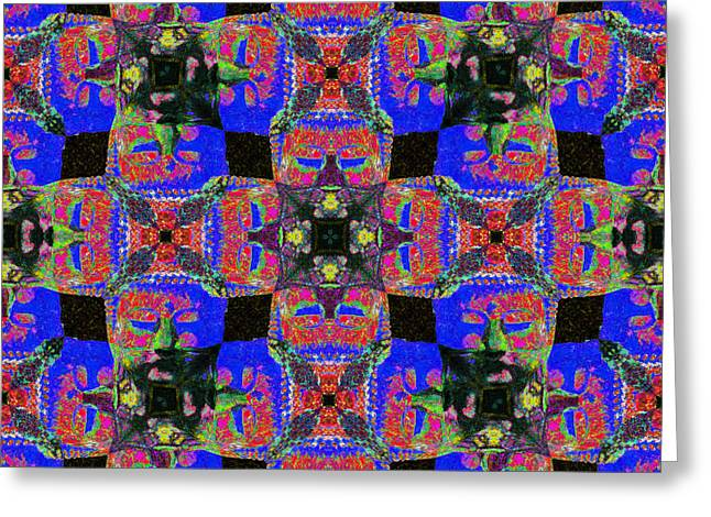 Buddha Abstract 20130130m68 Greeting Card by Wingsdomain Art and Photography