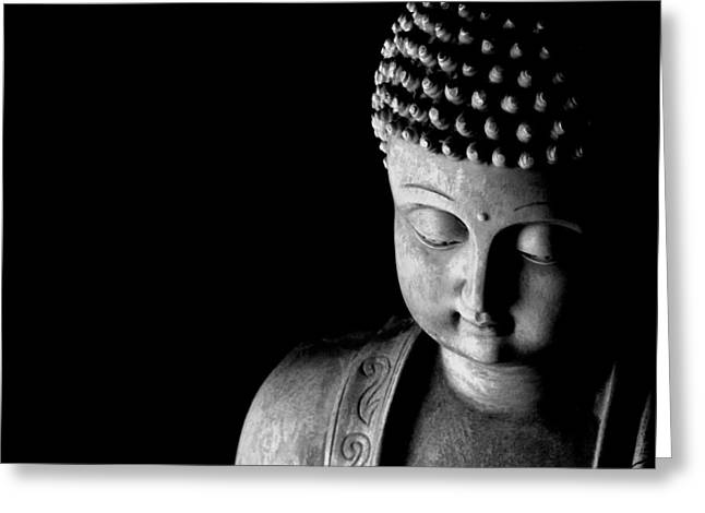 China Greeting Cards - Buddha Greeting Card by Anthony Citro