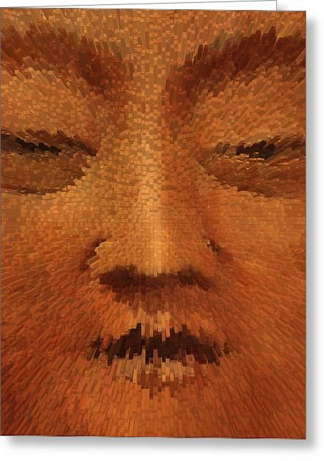 Tibetan Buddhism Greeting Cards - Buddha  c2014 Greeting Card by Paul Ashby