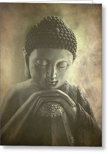 Siddharta Greeting Cards - Buddha Greeting Card by Madeleine Forsberg