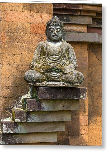 Religiious Greeting Cards - Buddha of the Street Greeting Card by Paul Donohoe