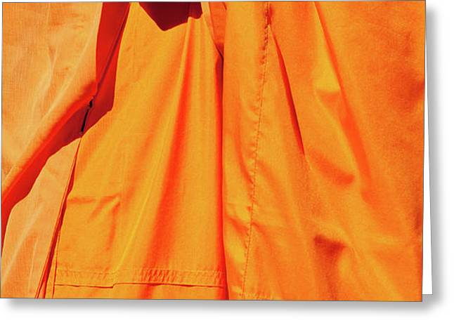 Buddhist Monk 02 Greeting Card by Rick Piper Photography