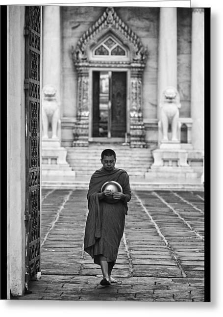 Conservative Greeting Cards - Buddhist Prayers 4 Greeting Card by David Longstreath