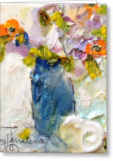 Daughter Gift Greeting Cards - Budding Bits Greeting Card by Sherry Harradence