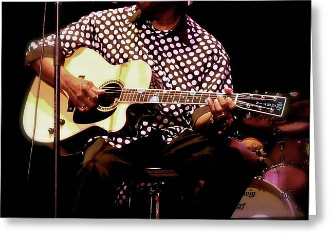 Smart Greeting Cards - BUDDY GUY Buddy Guy Greeting Card by Iconic Images Art Gallery David Pucciarelli
