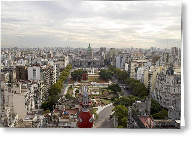 Buenos Aires Gifts Greeting Cards - Buenos Aires Congress Greeting Card by For Ninety One Days