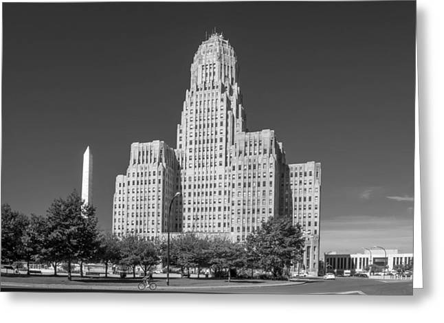 Guy Whiteley Photography Greeting Cards - Buffalo City Hall 0519b Greeting Card by Guy Whiteley