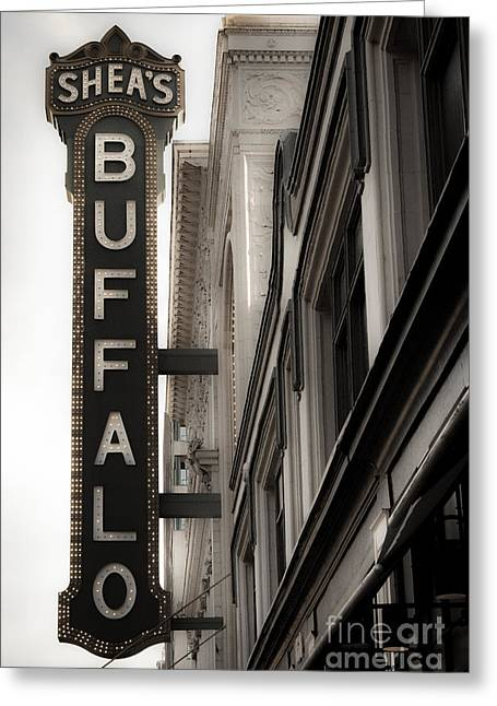Buffalo Greeting Card by Ken Marsh