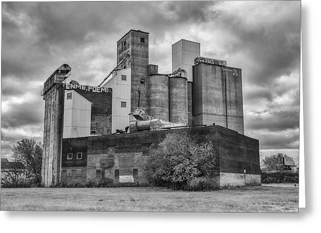 Maltings Greeting Cards - Buffalo Malting   7D08348 Greeting Card by Guy Whiteley